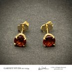 Peter Indorf Collection Garnet Earrings