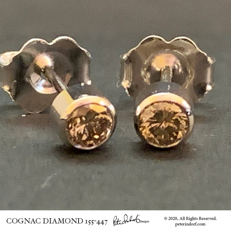 Peter Indorf Collection Cognac Diamond Studs