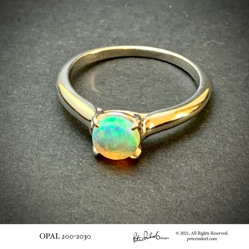 Peter Indorf Collection Opal Ring