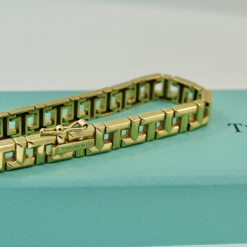 Estate Jewelry  Tiffany T Link Bracelet