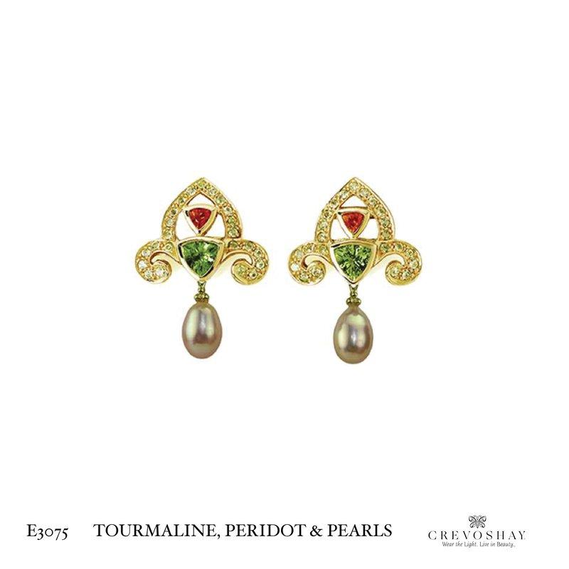 Paula Crevoshay  Earring