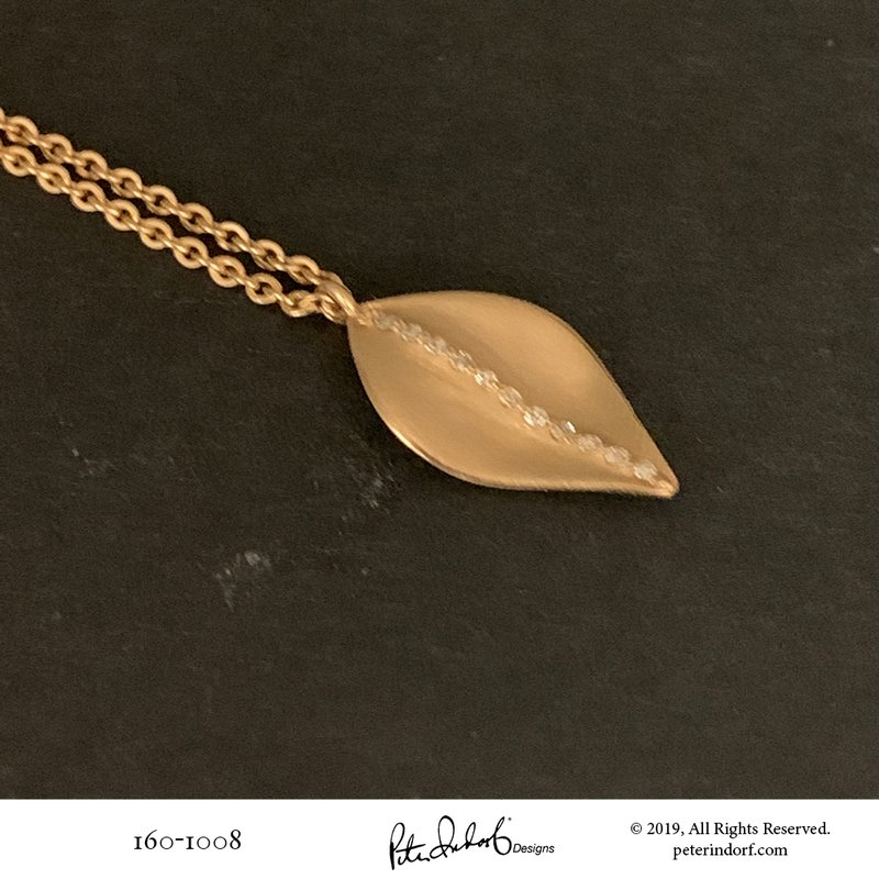 Peter Indorf Collection Leaf Pendant