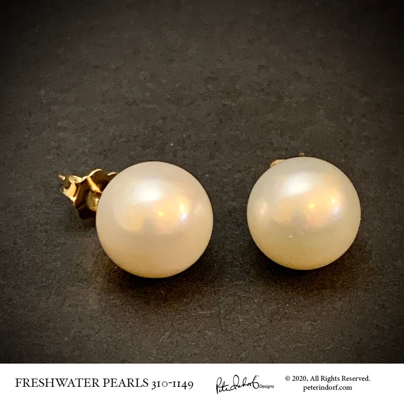 Peter Indorf Collection Freshwater Pearl Studs
