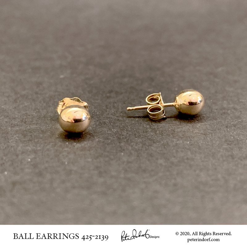 Peter Indorf Collection Ball Earrings