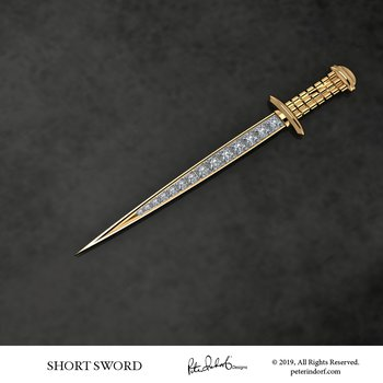 Short Sword Pin