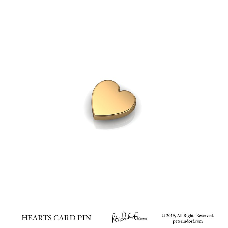 Peter Indorf Collection Heart Pin