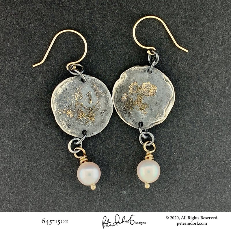 Peter Indorf Collection Moon Crater Dangles