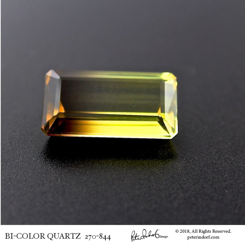 Peter Indorf Collection Bi-Color Citrine