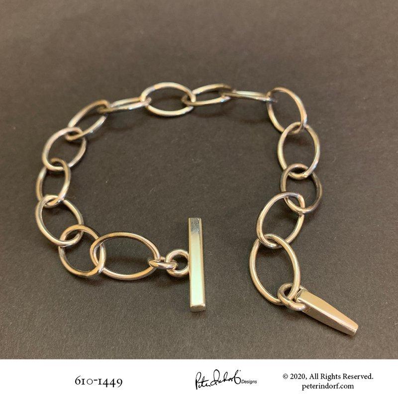 Peter Indorf Collection Adjustable Link Bracelet