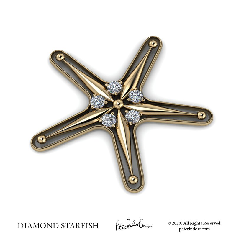 Peter Indorf Collection Starfish