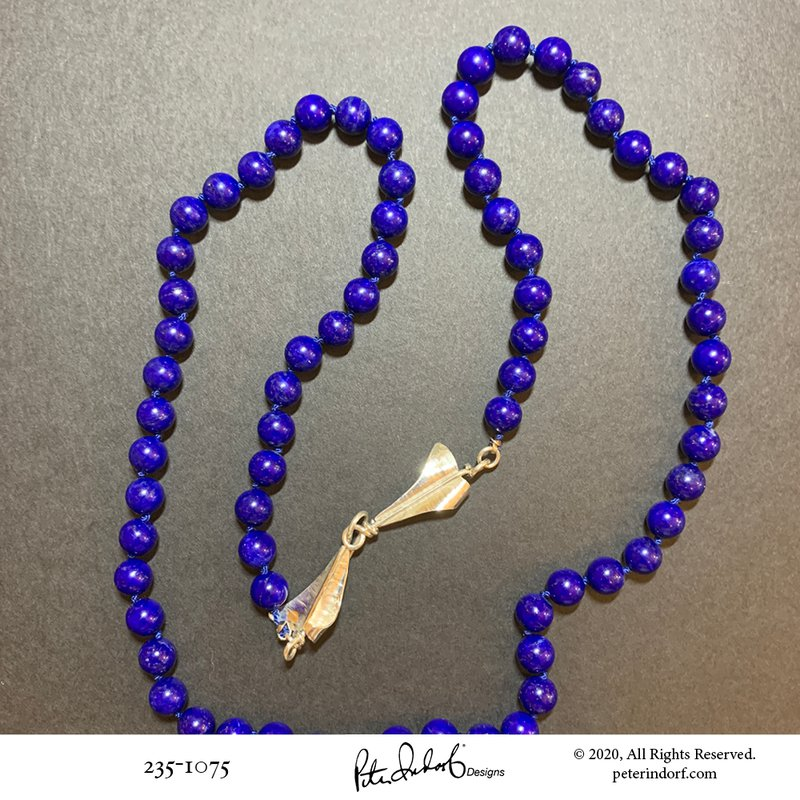 Peter Indorf Collection Lapis Lazuli Necklace