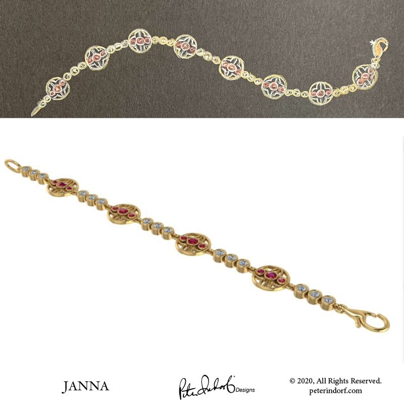 Peter Indorf Collection Janna