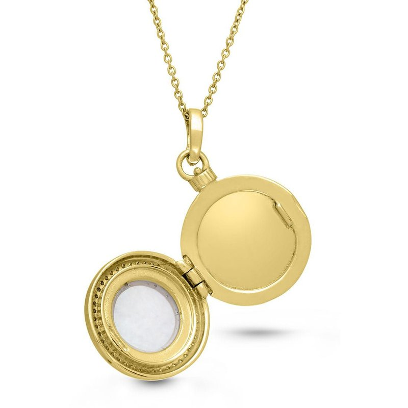 With You Michael Locket Necklace