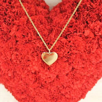 14kt Yellow Gold Heart Charm