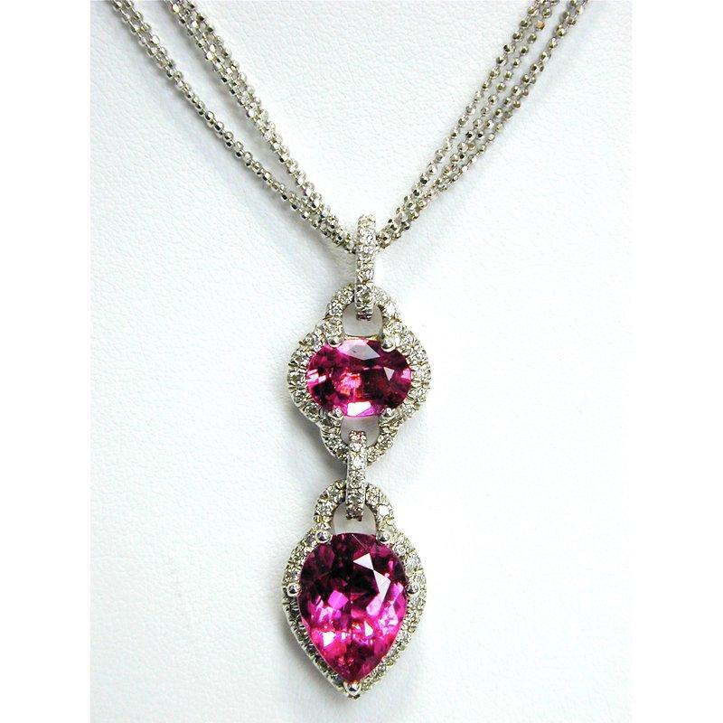 Thomas Farley Design Pink Tourmaline Pendant