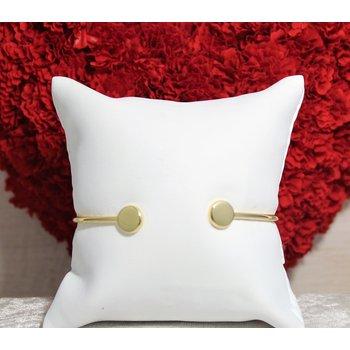 14kt Yellow Gold Dot Bracelet