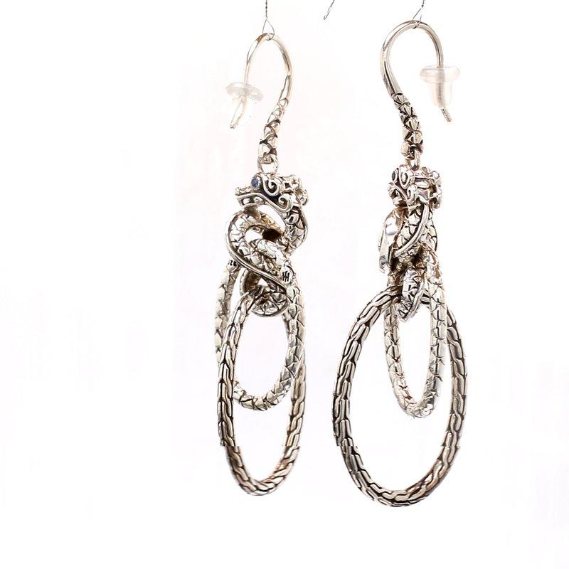 John Hardy Naga Earrings