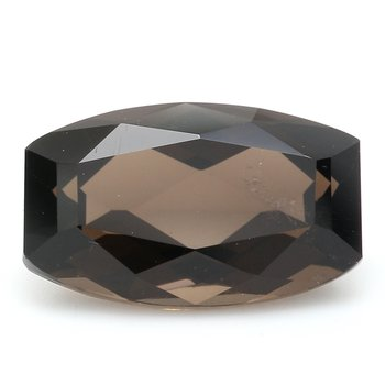 One Cushion Cut Smoky Quartz Q