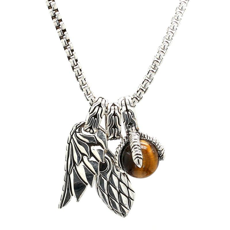 John Hardy Legends Eagle Amulet Pendant o