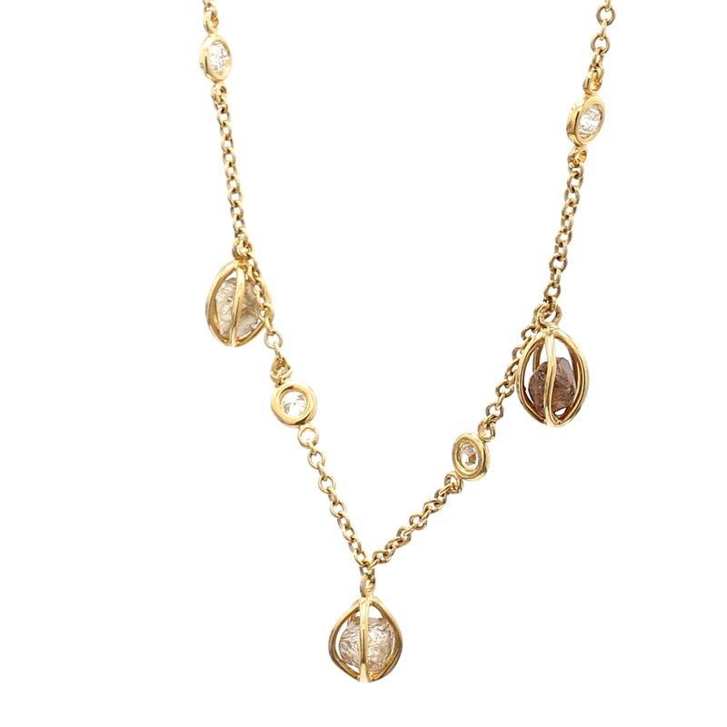 Spicer Greene Rough Diamond Necklace