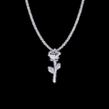 Rose Pendant (Sterling Silver)