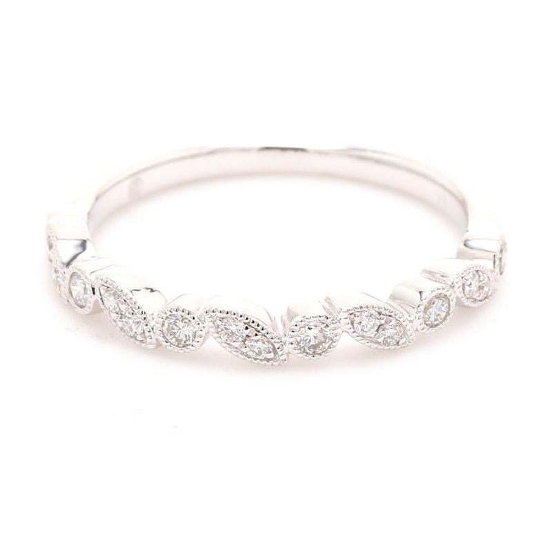 Classique Confetti Diamond Wedding Band