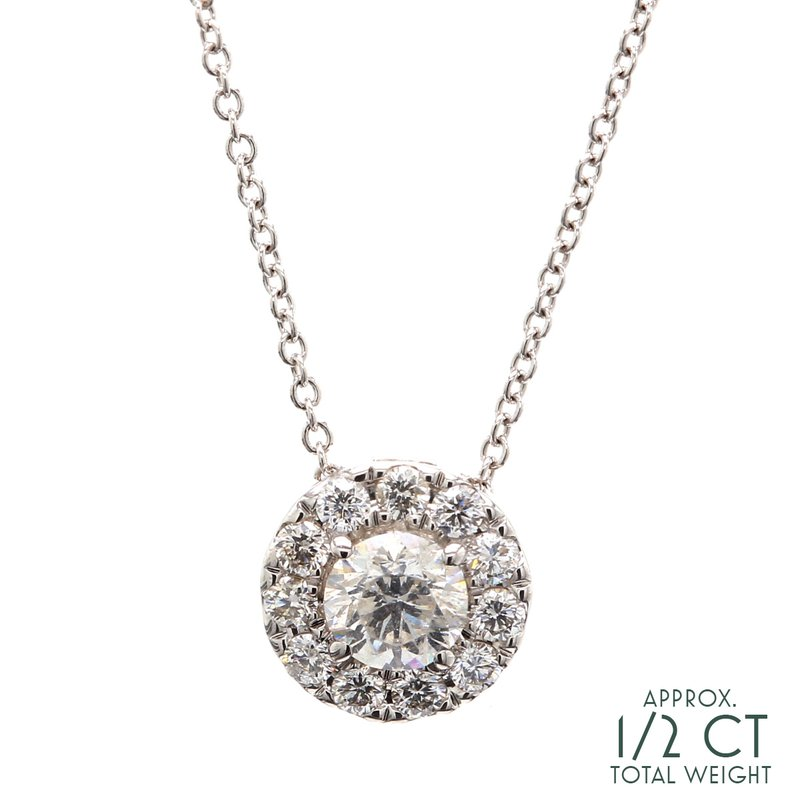Everyday Diamonds Diamond Halo Pendant