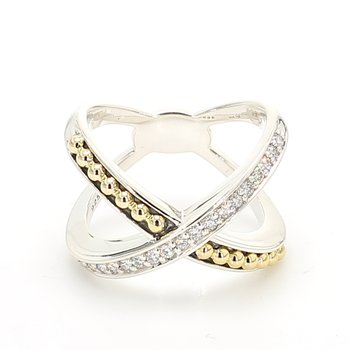 Diamonds set by 18 Karat Yello
