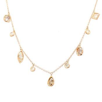 Diamond Fringe Necklace