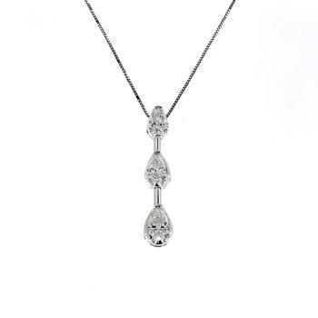 Fancy Shape Diamond Pendant