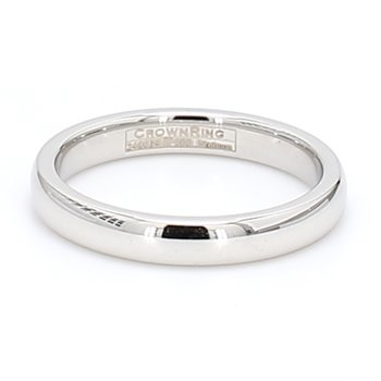 3mm Platinum Wedding Band
