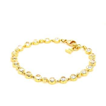 Moonstone Tennis Bracelet