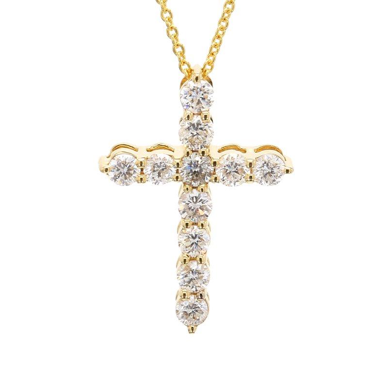 Spicer Greene Diamond Cross Pendant