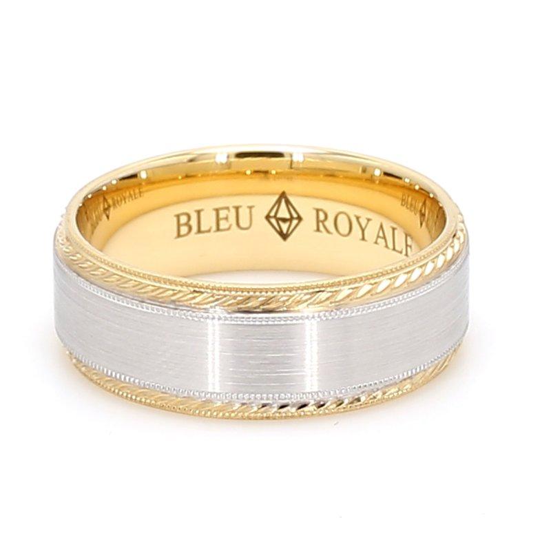 CrownRing 8mm 18 Karat Gold Wedding Band