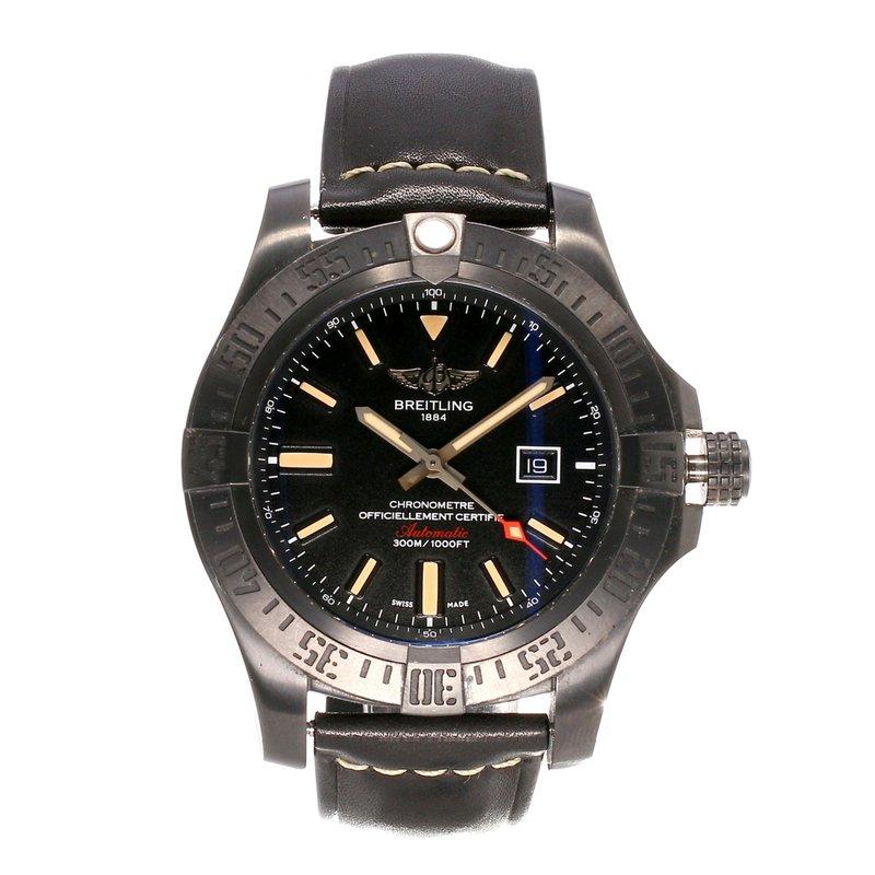 Pre-Owned Watches Breitling Avenger Blackbird 48mm