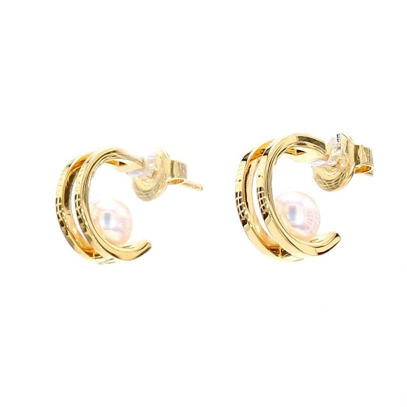 Mikimoto Akoya Cultured Pearl Stud Earrings