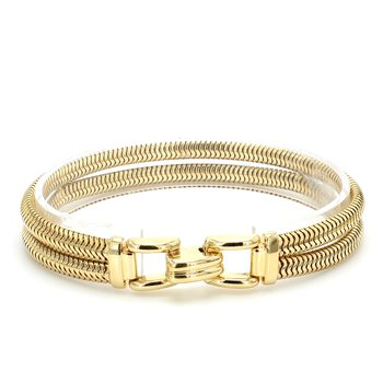 Gold Serpentine Bracelet