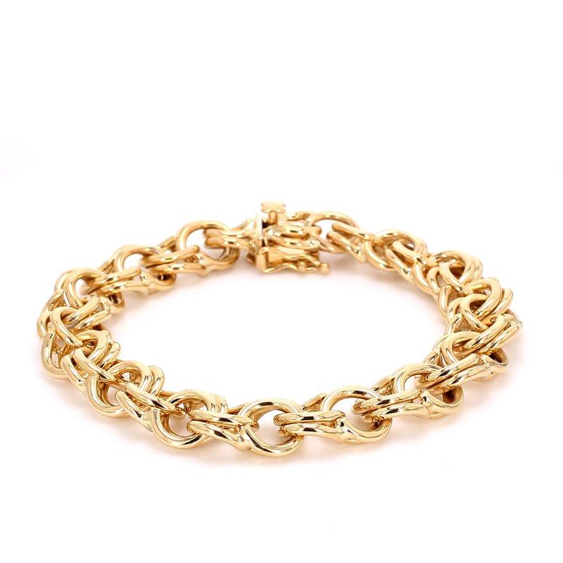 Estate Gold Curb Bracelet