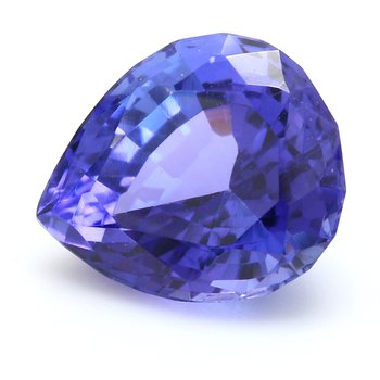 One Pear Shaped Tanzanite Zois