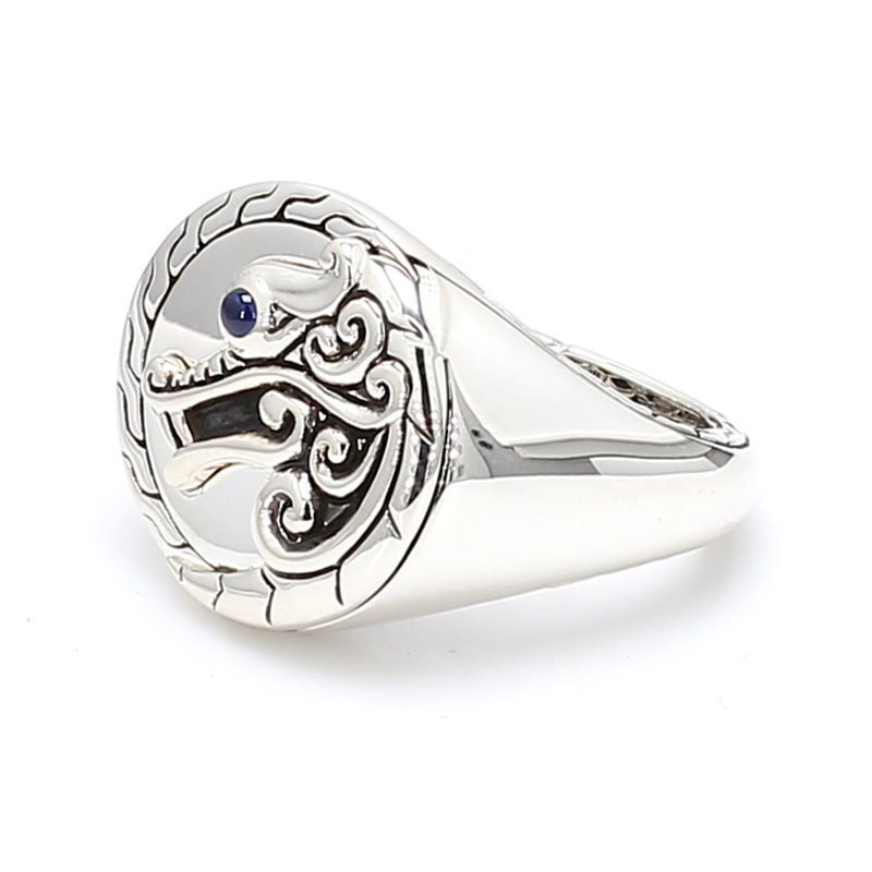 John Hardy Naga Silver Ring