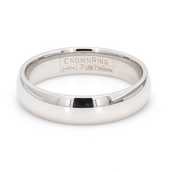 5mm Platinum Wedding Band