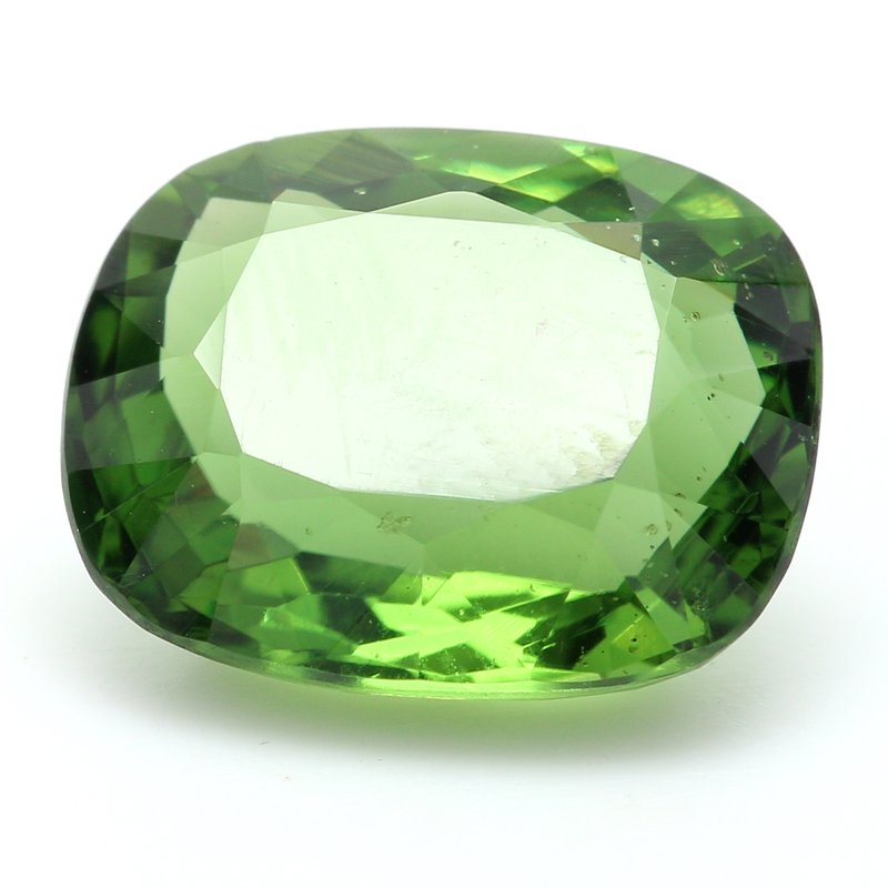 Color by Spicer Greene One Cushion Cut Verdelite Tour