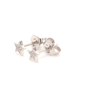 Star Diamond Studs