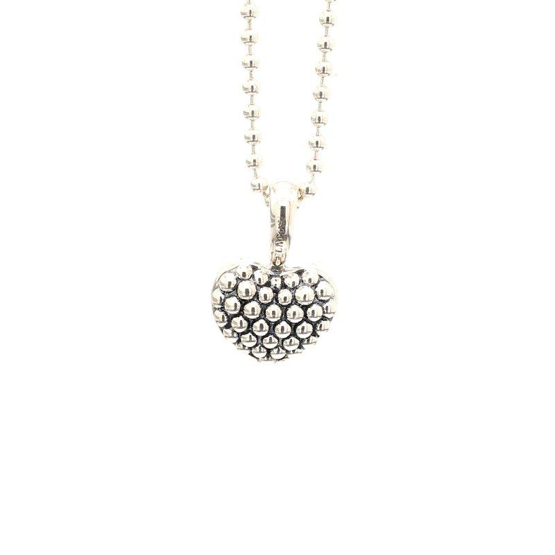 Lagos Silver Heart Pendant