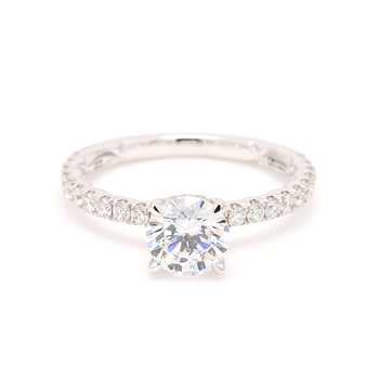 Classic Semi Mount Engagement Ring