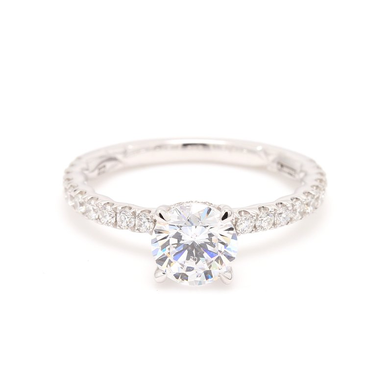 A.Jaffe Classic Semi Mount Engagement Ring