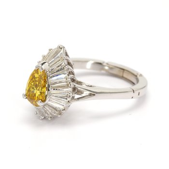 Diamond Ballerina Ring