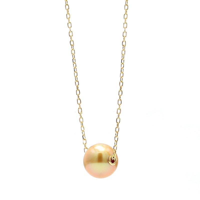 Mikimoto Golden South Sea Pearl Pendant