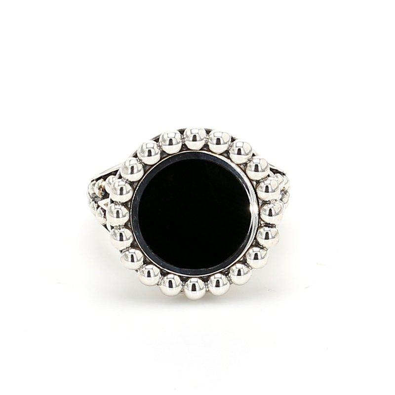 Lagos Black Onyx Ring