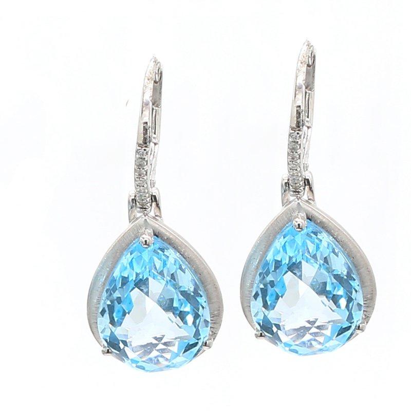 Color by Spicer Greene Topaz Dangle Earrings